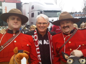 Royal Canadian 'Not So' Mounted Police  w/ former BC Premier Gordon Campbell